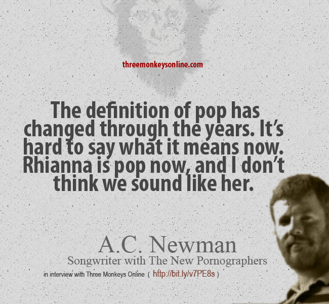 a.c newman on pop