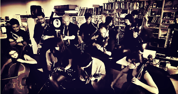 Mother Falcon playing NPR tiny Desk