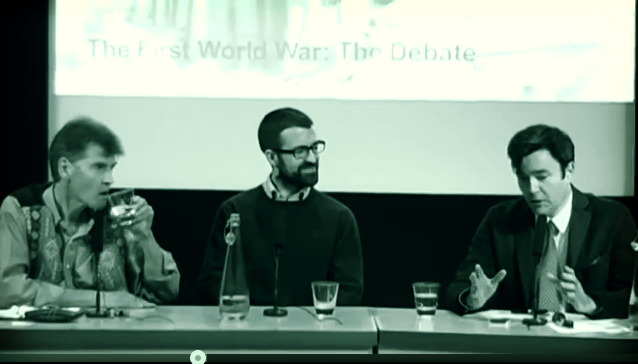 british library debate on the first world war