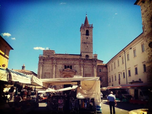 Ascoli Piceno's PIazza Arringo