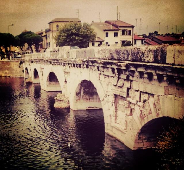 Rimini's Ponte di Tiberio