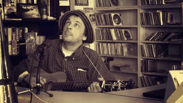 Vic Chestnutt performing live on NPR