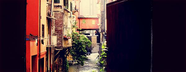 Bologna's Canale delle Moline