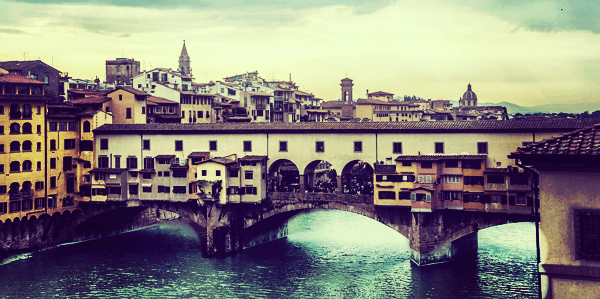 Firenze - Ponte Vecchio - day trip from Bologna