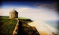 Mussenden Temple and Downhill Strand, Derry