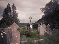 St Kevin's Monastic City at Glendalough