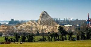 Cu Chulainn rollercoaster - Tayto Park