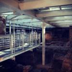 Roman Ruins in Bologna's Sala Borsa