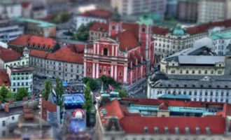 Ljubljana time lapse video
