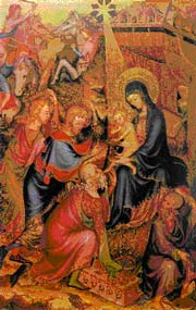 Unknown French Master, The Adoration of the Magi, c.1380-1390, Florence: Museo Nazionale del Bargello.