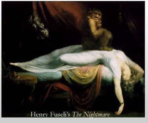 Henry Fuseli's The Nightmare - 1781