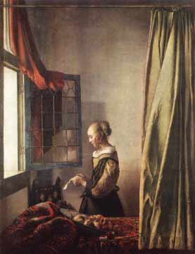 Vermeer's Lady Reading at the Window