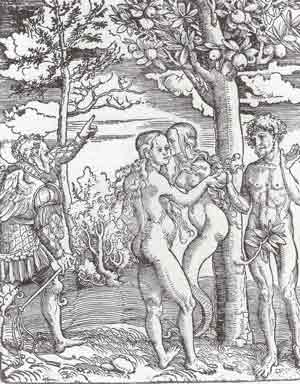 Lucas Cranach - The Fall of Man